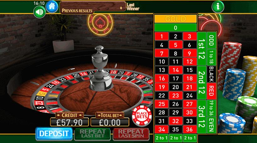 Roulette Gold Screenshot 2