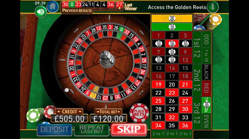 Roulette Gold Screenshot 3