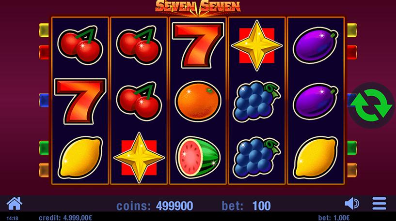 Seven Seven Slot Screenshot 2