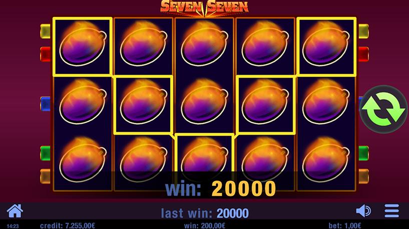 Seven Seven Slot Screenshot 1