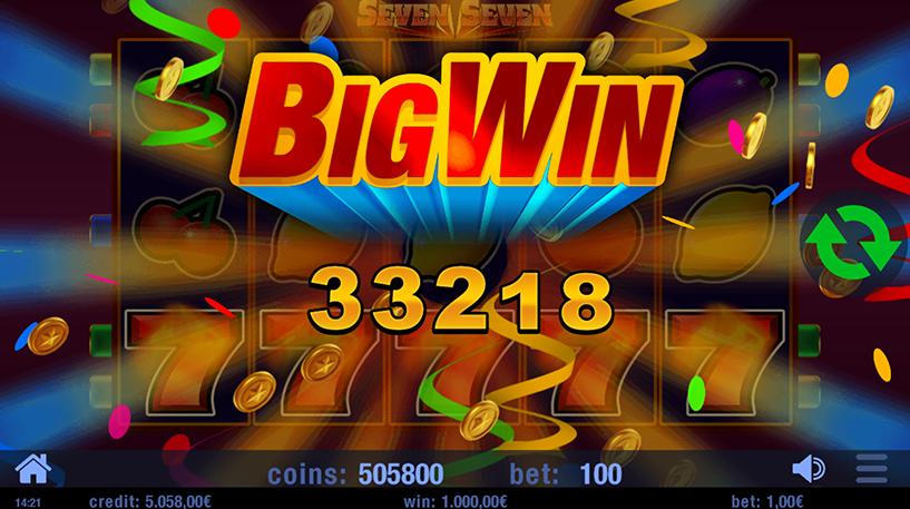 Seven Seven Slot Screenshot 3