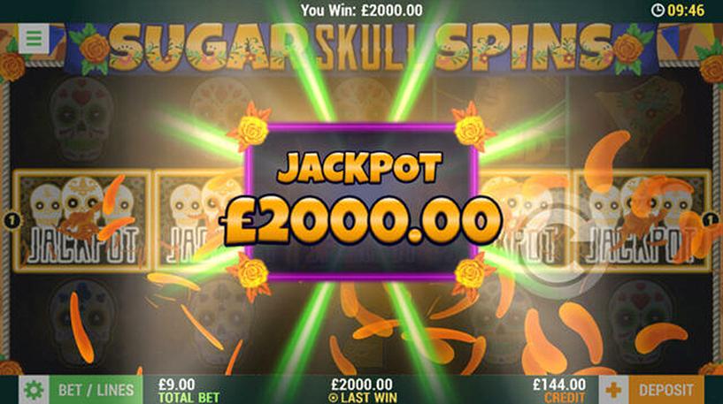 Sugar Skull Spins Slot Screenshot 1
