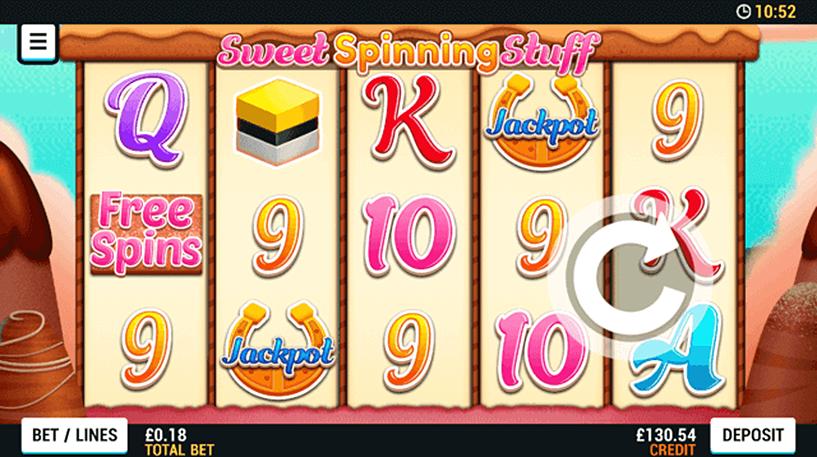 Sweet Spinning Stuff Slot Screenshot 1