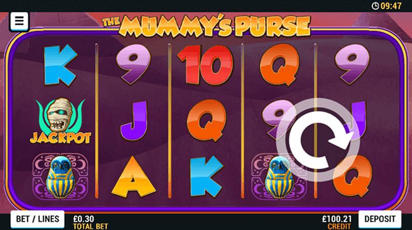 The Mummy's Purse Slot Screenshot 1