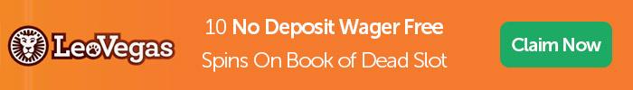 Leovegas No Deposit + No Wagering Bonus