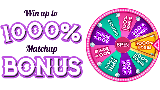 Win Up To £1000 With A Deposit Match Bonus Of 1000% From Fairground Slots
