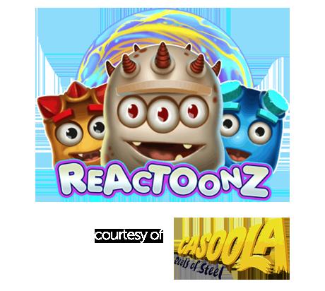 200 FREE Spins on Reactoonz Slot, Deposit Just £10